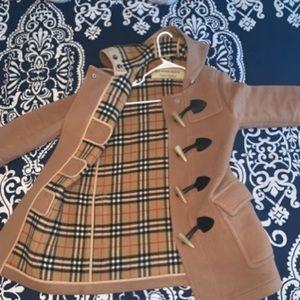 Men's Burberry pea coat